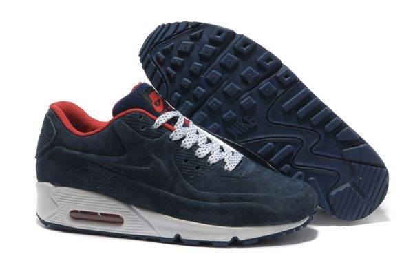 A446F Dark Obsidian White Red - Nike Air Max Shoes YE361804