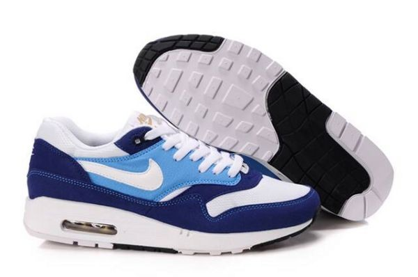 A446F Midnight Navy White Soar - Nike Air Max Shoes JP976180