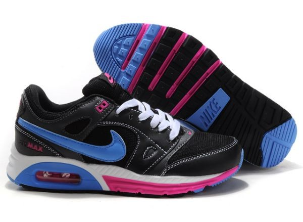 A462F Black Blue Pink - Nike Air Max Shoes XO276580