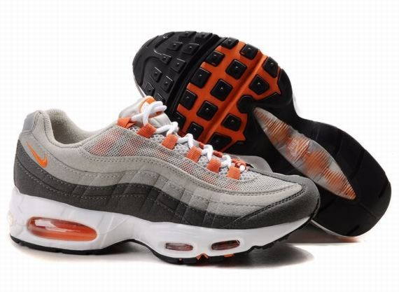 A462N Grey Orange White - Nike Air Max Shoes AU026815