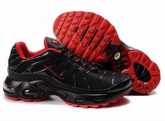 B690X Black Varsity Red - Nike Air Max Shoes VR482170