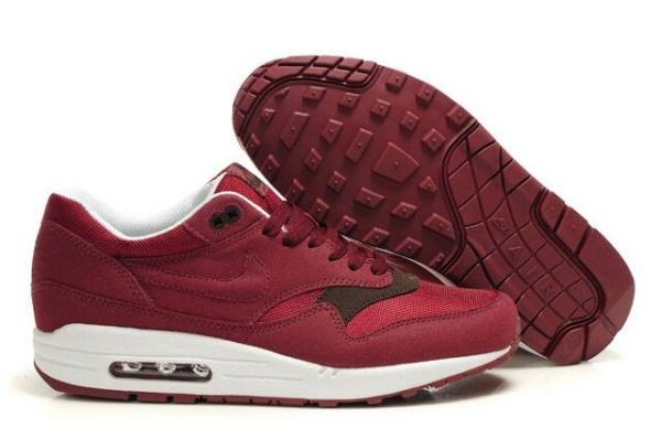 H442M Burgundy White - Nike Air Max Shoes VG257841