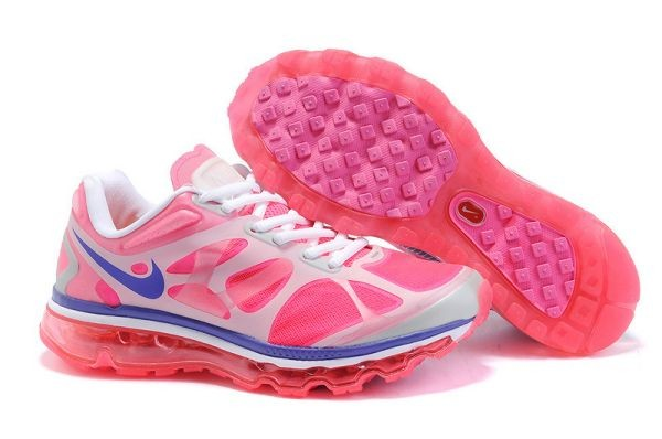 H464L Pink White Blue - Nike Air Max Shoes WX209715