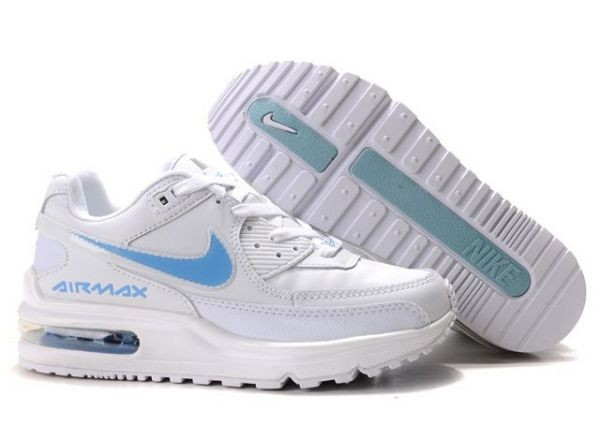 H625P Trainers White Blue - Nike Air Max Shoes IA107852