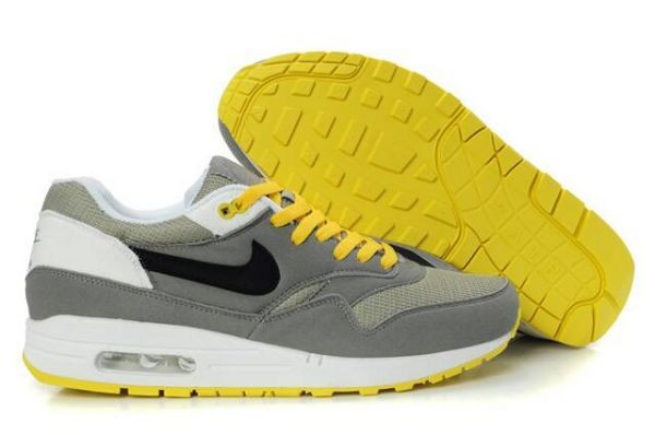 H644M Grey Black White Yellow - Nike Air Max Shoes ZW782943