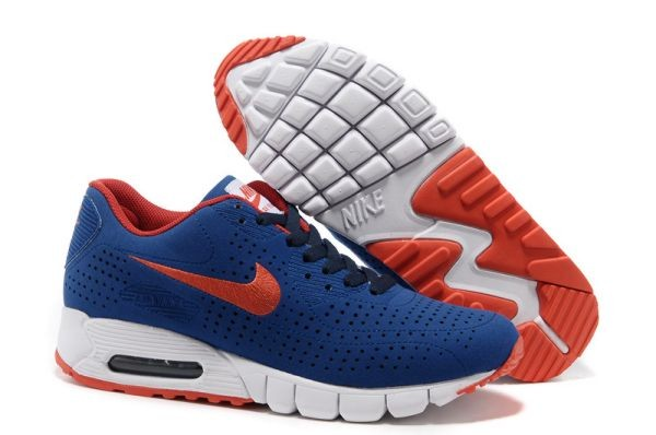 I242M Dark Blue Orange Red - Nike Air Max Shoes IN017234