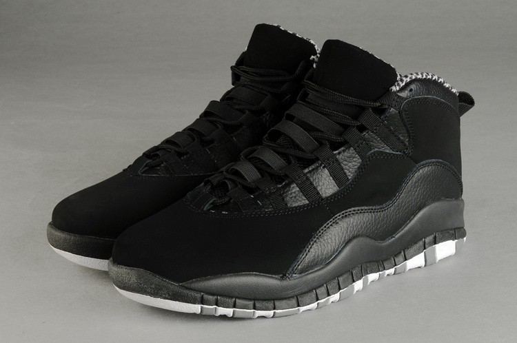 Nike Air Jordan 10 Mens Pure Black GH810653