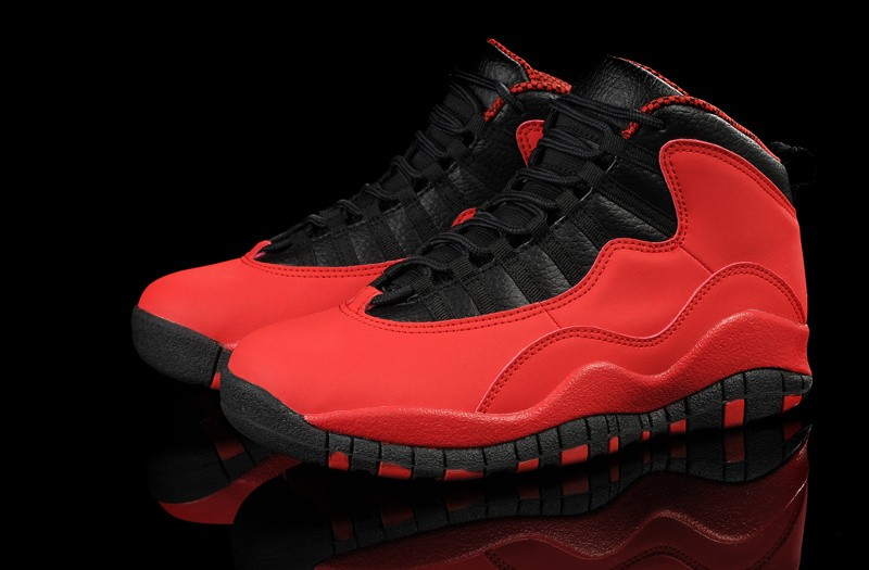 Nike Air Jordan 10 Mens Red/Black SB536274