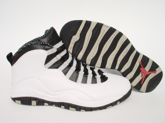Nike Air Jordan 10 Mens White/Black 0310 HI645217