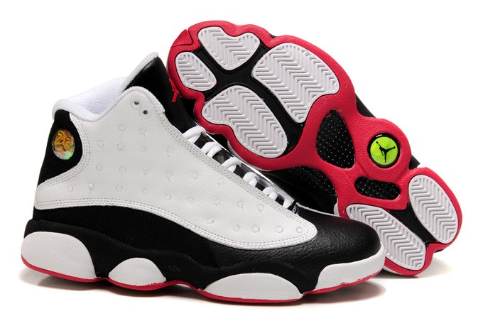 Nike Air Jordan 13 Kids Gray/Pink/Black JM854701