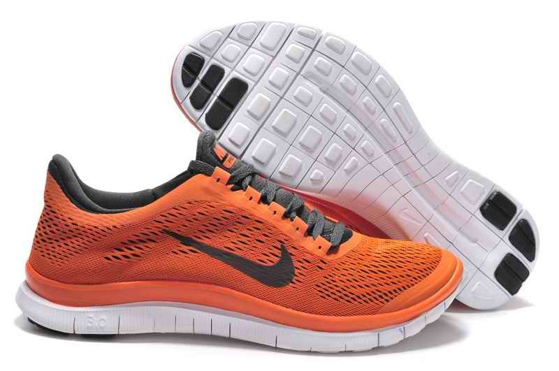 Nike Free 3.0 Women Running Shoes Black Brown NI375042