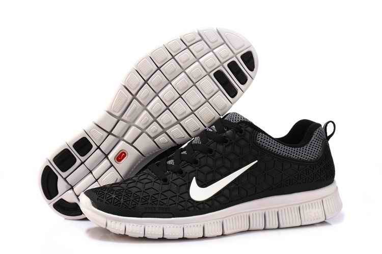 Nike Free Run 2 Women Running Shoes Black Blue WC825193