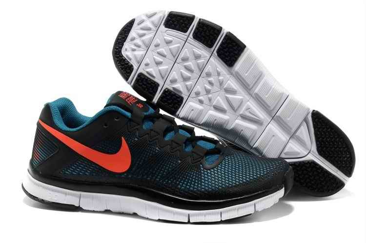 Nike Free Trainer 3.0 Mens Running Shoes - Green Blue JC128475